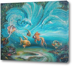 "Картина Картина: ""Волшебство планктона"""