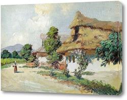 Картина Деревня