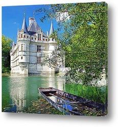 Постер Красивый замок