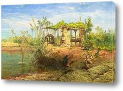 Постер На берегу Нила