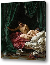 Картина Марс и Венера, аллегория мира