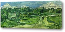 Постер Летний пейзаж