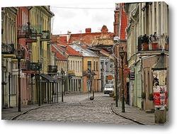 Постер Литовский город Каунас