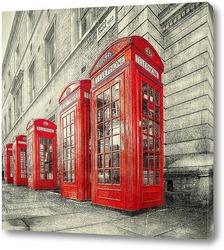Постер Телефонные будки