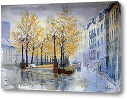 Картина Яузский бульвар