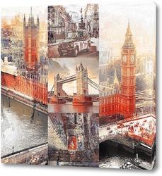 Постер Достопримечательности Лондона