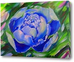 Картина Голубой пион