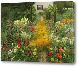 Картина Сад в Аннси