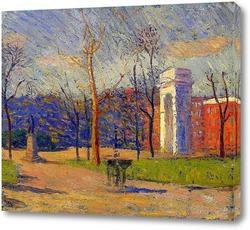 Картина Вашингтон-Сквер