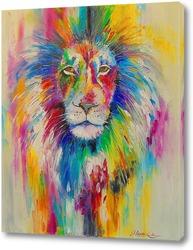 Картина Радужный лев