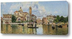 Venice canals and gondolas,Italy