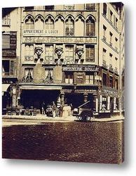 Постер Плейс ду Каир. Париж II. 1903.