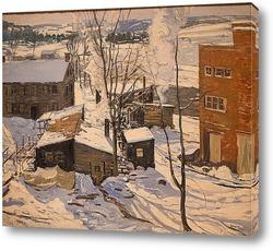 Постер Электростанция, Деревня, Штат Коннектикут