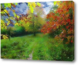 Постер Осенний этюд