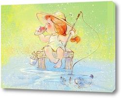 Картина Ловись, рыбка!
