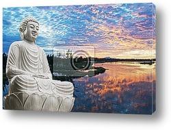Постер Buddha sitting