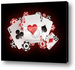 Постер Chips and aces