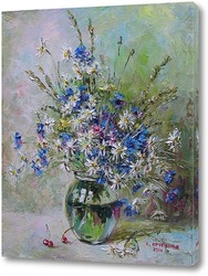 "Картина Круглова Светлана. ""Луговые цветы"""