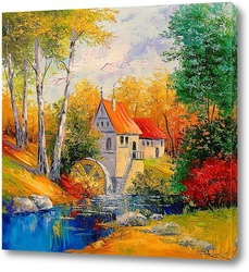 Картина Мельница