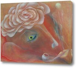 Картина Душа поэта. Мистический цветок