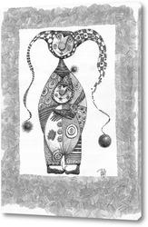 Картина Шутиха и шутёнок