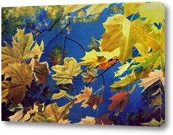 Картина Желтые листья