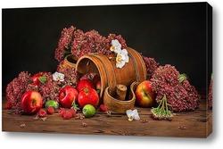 Постер Фруктово-ягодный натюрморт