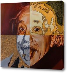 Картина Энштейн и его мухи