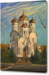 Постер Свято-Богоявленский кафедральный собор в г.Горловка, Донецкая область