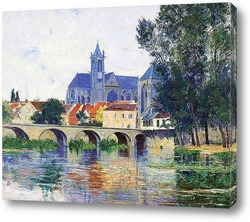 Картина Moret-sur-Loing