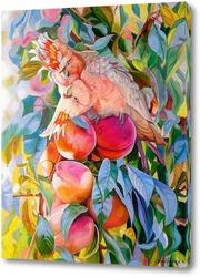 Картина Персиковый поцелуй