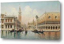 Постер Венецианские сцены