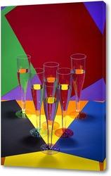 Постер Геометрия цвета-2