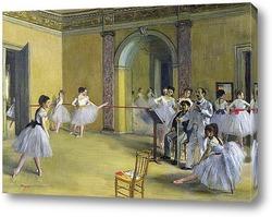 Танцы в опере на улице Пелетье, 1872