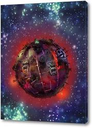 Картина Планета Шелезяка