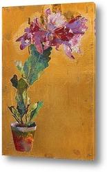 Картина Цветочный горшок с Каттлеями, 1923