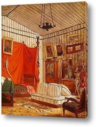 Картина Спальня графа де Морне