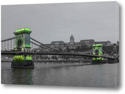 Картина В зеленых тонах