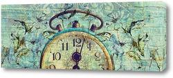 Постер Старинные часы