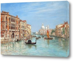 Venice, Italy - canal, boats and houses