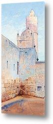 Постер Мечеть в Тунисе.