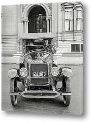 Постер Авто в Сан-Франциско, 1923