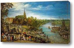 Картина Деревенская ярмарка