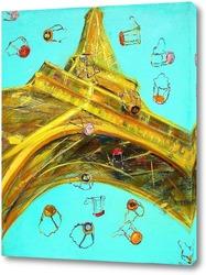 Постер Жаркое лето в Париже