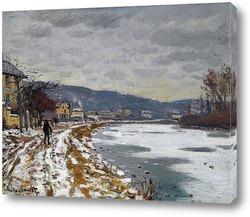 Картина Сена в Буживале