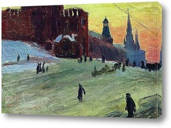 Картина Москва. Красная площадь