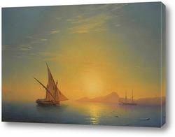 Закат над Искья