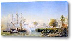 Взятие цитадели в Сайгоне 17 февраля 1859 года
