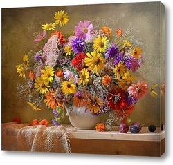Картина Сентябрьское разноцветье