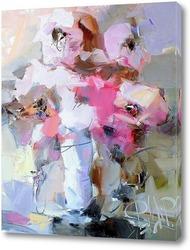 Розовые всполохи из теплого утра
